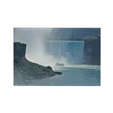 Maid of the Mist and Horseshoe Fa Rectangle Magnet