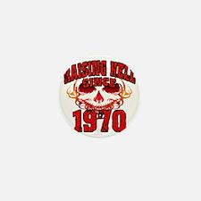 Raising Hell Since 1970 Mini Button
