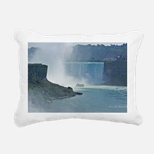 Maid of the Mist and Hor Rectangular Canvas Pillow