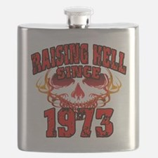 Raising Hell since 1973 Flask