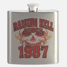 Raising Hell since 1987 Flask