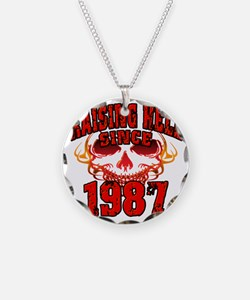 Raising Hell since 1987 Necklace