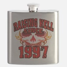 Raising Hell since 1997 Flask