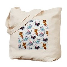 Cute Playful Kittens Tote Bag