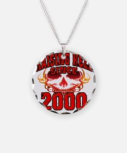 Raising Hell since 2000 Necklace
