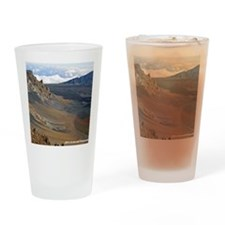 Haleakala Crater Drinking Glass