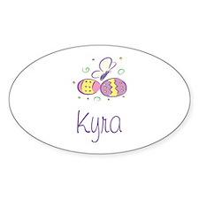 Easter Eggs - Kyra Oval Decal