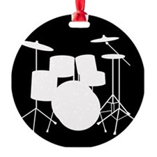 Drumset Round Ornament