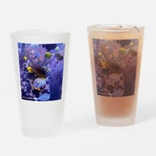 Tropical Fish Drinking Glass