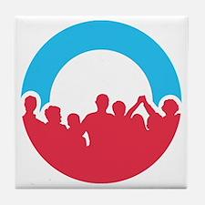Obama Together in 2012 Shirt Tile Coaster