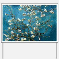 Blossoming Almond Tree, Vincent van Gogh Yard Sign