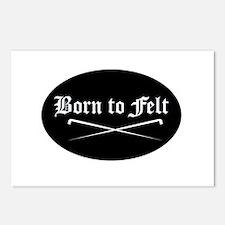 Felting - Born to Felt Postcards (Package of 8)