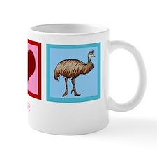 Peace Love Emu Mug