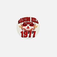 Raising Hell since 1977 Mini Button