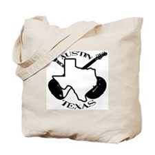 Austin Texas Guitars Tote Bag