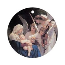 Song Of The Angels Round Ornament