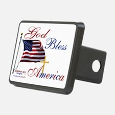 God Bless America yard sig Hitch Cover