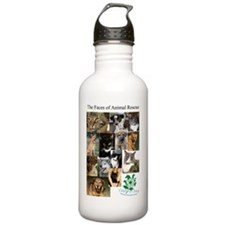 The Faces of Animal Re Water Bottle