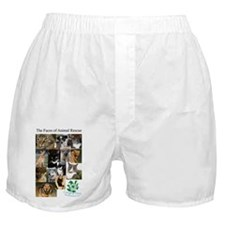 The Faces of Animal Rescue Boxer Shorts