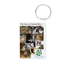The Faces of Animal Rescue Keychains