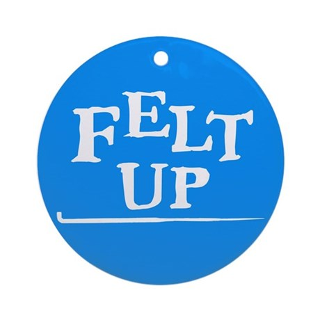 Felting - Felt Up Ornament (Round)