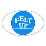 Felting - Felt Up Oval Sticker