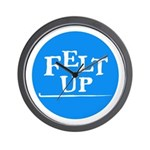 Felting - Felt Up Wall Clock