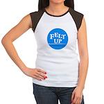 Felting - Felt Up Women's Cap Sleeve T-Shirt