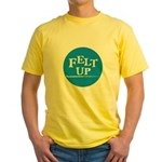 Felting - Felt Up Yellow T-Shirt