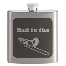 Bad to the Trombone Flask