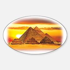 The Pyramids at Giza Decal