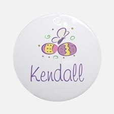 Easter Eggs - Kendall Ornament (Round)