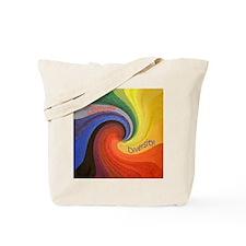 Celebrate Diversity small square Tote Bag