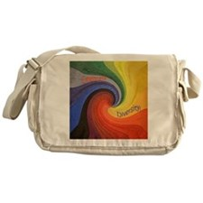 Celebrate Diversity small square Messenger Bag