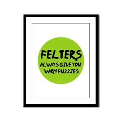 Felting - Felters Warm Fuzzie Framed Panel Print