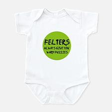 Felting - Felters Warm Fuzzie Infant Bodysuit