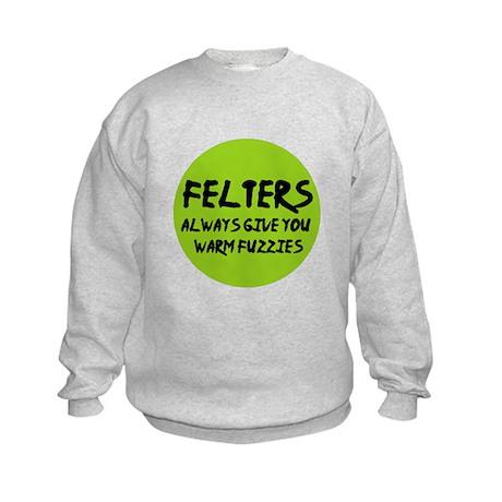 Felting - Felters Warm Fuzzie Kids Sweatshirt