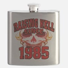 Raising Hell since 1985 Flask