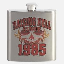 Raising Hell since 1985 Flask