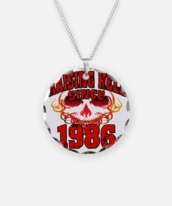 Raising Hell since 1986 Necklace