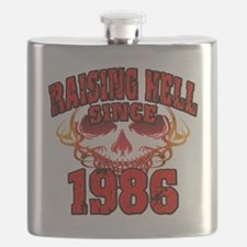 Raising Hell since 1986 Flask