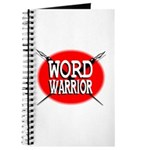 Word Warrior red shield Journal