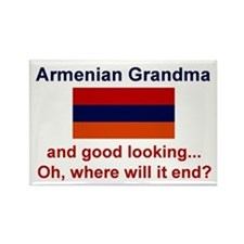 Gd Lkg Armenian Grandma Rectangle Magnet