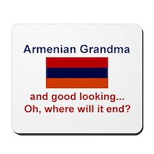 Gd Lkg Armenian Grandma Mousepad