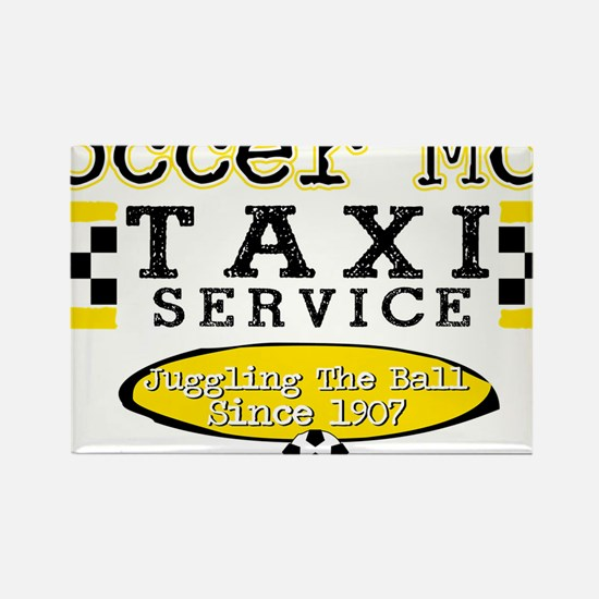 Soccer Mom Taxi Service Rectangle Magnet