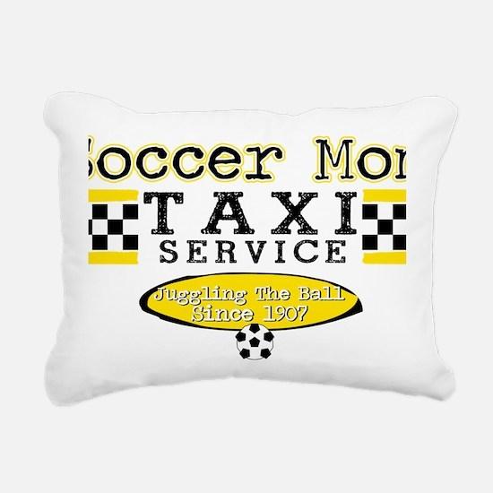 Soccer Mom Taxi Service Rectangular Canvas Pillow