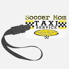 Soccer Mom Taxi Service Luggage Tag