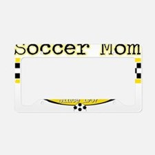 Soccer Mom Taxi Service License Plate Holder