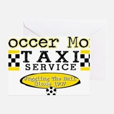 Soccer Mom Taxi Service Greeting Card