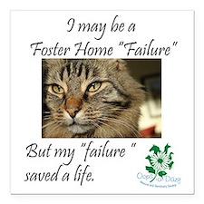 """Foster Home Failures sav Square Car Magnet 3"""" x 3"""""""